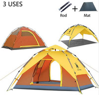 Wholesale Hot sale person Tents Hydraulic automatic Windproof Waterproof Double Layer Tent Ultralight Outdoor Hiking Camping Tent Picnic tents