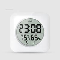 bathroom thermometer - Hotel bathroom clock digital LCD Thermometer hygrometer temperature and humidity meter desk table clocks wall clocks Waterproof clock
