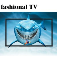 Wholesale HME5000CP64 inches HD LED Flat Panel TV Energy Saving Eyecare Appearance Narrow Edge Thin Support TV Box