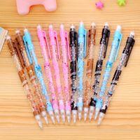 Wholesale Pens mm Kawaii Plastic Mechanical Pencil Lovely Cartoon Automatic Pen For Kids Korean Stationery