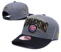 Wholesale price world series champions cubs Cap Chicago Adjustable Baseball Snap Back Hats Snapbacks High Quality Players Sports