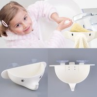 Wholesale Cute Cartoon Bathroom Plastic Elephant Soap Holder Removable Wall Mounted Strong Suction Soap Dish