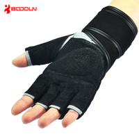 Wholesale Fitness Body Building Weight Lifting Half Finger Weigtlifting Gloves Gym Equepment Fitness Babell Pesas Weights Glove For Men and Woman