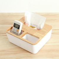 Wholesale New European style wooden box creative Home Furnishing napkin box