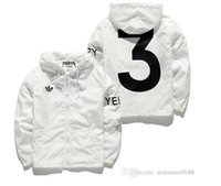Wholesale YEEZUS Jacket Men KANYE WEST Hip Hop Windbreaker MA1 Pilot Men s Jacket Tour Baseball Supremo YEEZUS Jaqueta Masculina Jackets size S XXL