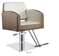Wholesale Hot Sale Stainless Base White Salon Barber Chair Hair Hairdressing Furniture Salon Equipment Many Color OEM we are a factory