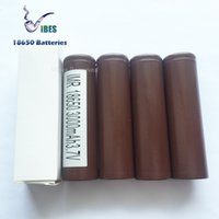 Wholesale Authentic Battery HG2 mah a Max Discharge Rechargeable Lithium Batteries For Box Vape Ecig Mods Ship out in Days