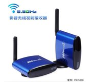 audio equipments - 1 to PAT GHz Wireless AV Audio Video Transmitter Receiver Adapter Radio TV Equipments For STB DVD up to M