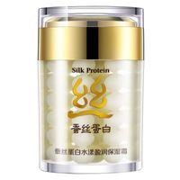 Wholesale Silk Protein Deep Moisturizing Face Cream Shrink Pores BIOAQUA Brand Skin Care Anti Wrinkle Cream Face Care Whitening Cream