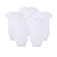 Wholesale Newborn Baby Outfit High Quality Jumpsuits Baby Unisex Short Long Sleeve Rompers Cotton Jumpsuit Infant Clothing Set