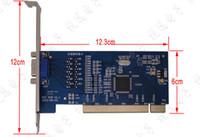 Venta al por mayor-H.264 8CH D1 4CIF Video CCTV DVR vigilancia de la tarjeta PCI de captura