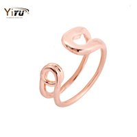 big safety pins - 30pcs Hot Sale Big Safety Pin Adjustable Couple Rings For Women Wedding Gifts R016
