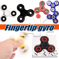 Wholesale Hot Toy EDC Hand Fidget Spinner Sensory Tri Desk Focus Toy Fingertip Gyro Anti Stress Toys Good Choice For decompression Anxiety