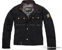 Precio de Chaquetas de los hombres de cera-Prendas de vestir exteriores de la cera de los hombres de la chaqueta de la motocicleta de la chaqueta del hombre de Wholesale-steve de calidad superior La chaqueta del roadmaster