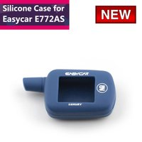Wholesale New Arrival Easycar E772AS Silicone case cover for Easycar E772AS two way car remote starter Only Silicone case Easycar E772AS