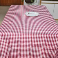 Wholesale 100 polyester jaquard table cloth round high quality fibre dyed wedding table cloth red and white