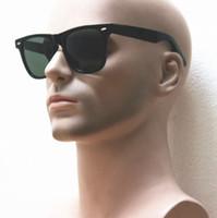 achat en gros de lentilles dame-Drop shipping fashion unisex planche pleine aceta cadre verre noir lentille lunettes de soleil de vacances en plein air, trendy tortoise frame flash miroir gafas