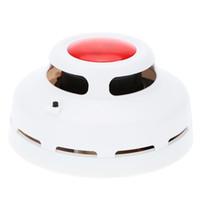 Wholesale 50pcs Stable Standalone Combination Carbon Monoxide Detector Test Gas Alarm Sensor High Sensitive CO Smoke Detector
