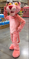 Wholesale pink panther Mascot Costume iceage custom cartoon character cosply adult size carnival costume fancy dress party kits1387