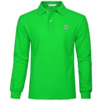 Wholesale Spring and Autumn The French Famous Brand Led Loose POLO Shirts Cotton Embroidery Long Sleeve T Shirts
