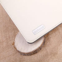 Wholesale 360 Degree Rotating PU Leather Swivel Flip Stand Case Cover Protective Shell for iPad Air Black Super thin edge holster tablet computers