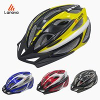 Wholesale LANOVA Brand New Safety Professional MTB Mountain Road Bike Bicycle Helmet Riding Cycling Sports Helmet L Size cm W