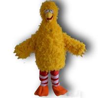 XS big bird mascot - Big Yellow Bird Mascot Costume Cartoon Character Costume Party GJHJ88