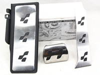 Wholesale Sport Brake Fuel R36 R line FootRest accelerator pedal brake pedal Fit For VW Passat CC B6 B7 Super B R36