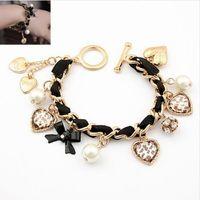 Wholesale European and American fashion bracelet summer small fresh temperament leopard strap bracelet jewelry female retro mahogany