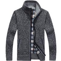 achat en gros de cardigan xxl mens tricot-Pull à capuche en cachemire à manches longues Hommes