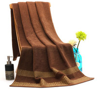 Wholesale New Cotton CM Holiday Bath Beach Towels Large Size for Adults Soft Absorb Hotel Bathroom Bath Towel