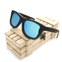 as pic Man as pic Wholesale- BOBO BIRD G038 Brand Design Unisex Handmade Wooden Sunglasses Nature Wooden Spectacle Frame Polarized Lens With Wooden Gift Box