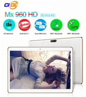 Cheap 4G LTE 9.6 inch Tablets PC Quad Core 1G RAM 16GB ROM Dual SIM Cards 5.0M Camera 1280*800 IPS DHL Free AQ10