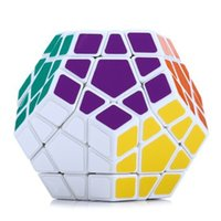 Wholesale 2016 Hot Selling side magic cubes Educational Toy IQ Brain Teaser Speed Training Magnetic High Quality Plastic Cubo Ball as GiftsPlasticF