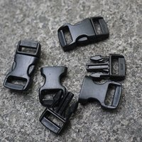 backpack fasteners - Outdoor Equipment Mini Buckle Snap Fasteners quot Suitable for mm Curved Paracord Backpack Buckles Camping Gear