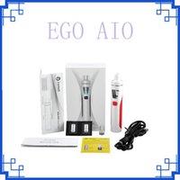 Clone Joyetech EGO Kit Aio 1500mAh Quick Start Vaporisateur Kit All in One Starter Kit 0.6ohm avec LED colorée Livraison gratuite