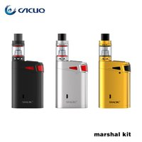 baby advances - Authentic SMOK Marshal G320 Kit W W Advanced Starter Kit with ml Top Refilling TFV8 Big Baby Tank Top Oled Display