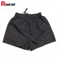 asian style homes - Man Summer Style Home Shorts Blue Black Male Casual Single Layer Quick Dry Polyester Shorts Asian Size XL