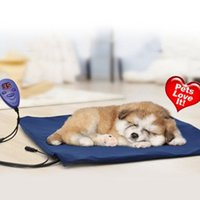 Wholesale Pet Bed Electric Heating Pad Dog Cat Warming Mat Blanket Heated Cushion Chew Resistant Cord and Removable Cover