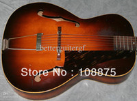 Red archtop guitar acoustic - Hot Selling Guitar Strings Guitars Texan Musical Instruments L Vintage acoustic archtop guitar GAT0167 Excellent Qua