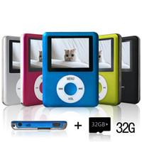Wholesale MP3 Player support GB Micro SD Card Mini Usb Port Slim Small Multi lingual E Book Reader Voice Recorder FM Radio Video Movie