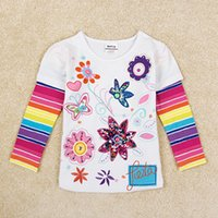 assured t shirt - White Rainbow Stripe Mosaic long sleeved T shirt Mother to buy the rest assured that the child with the rest assured