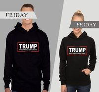 amazon jacket - US general election Trump with a hat Wei Amazon TRUMP letters long sleeved clothing jacket