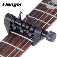 Wholesale Black Flanger Flexi Capo Portable Alternative Tuning Capo for Guitar Accessories