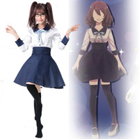 achat en gros de jeune cosplay-Kingdom Of Dreams and Sleeping Theme Costume Japonais Anime Clothing Uniformes scolaires Étudiants Cosplay Young Lady