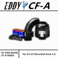 Wholesale Fit For Chevrolet Aveo Fine Quality Racing Brand EDDYSTAR EDDY Carbon Fiber Cold Air Intake System Air Filter