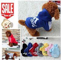 Wholesale New Autumn Winter Pet Products Dog Clothes Pets Coats Soft Cotton Puppy Dog Clothes Clothes For Dog colors XS XL