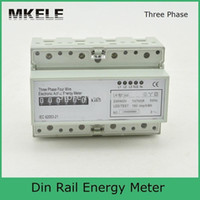 Wholesale 230 V A Phase Wire Connection Test Bench Digital Energy Meter LEM021AG