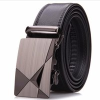 Wholesale new high quality men s leather belts for man automatic buckle belt Business Classic