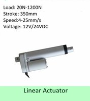 Wholesale 12V VDC inch mm stroke lbs N mm s IP low noise mini linear actuator home appliance usage